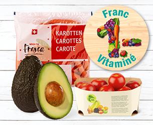 Des vitamines pour 1 franc